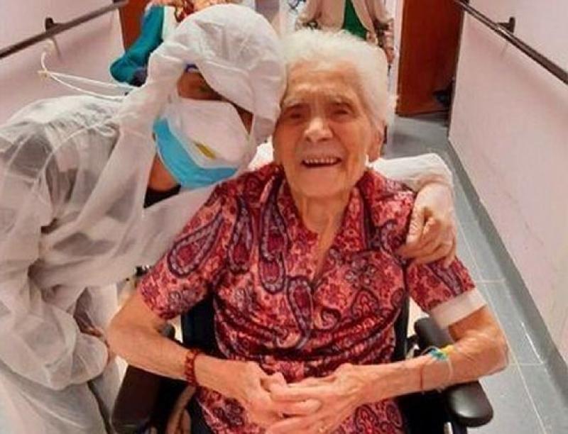 104-годишна италианка победи COVID-19