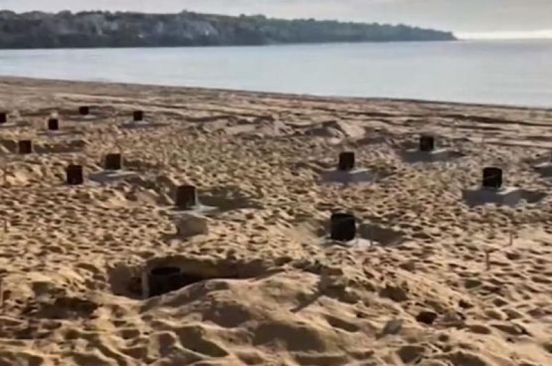 Разрешителните за плаж Смокините-север издадени по одобрената от министерството схема