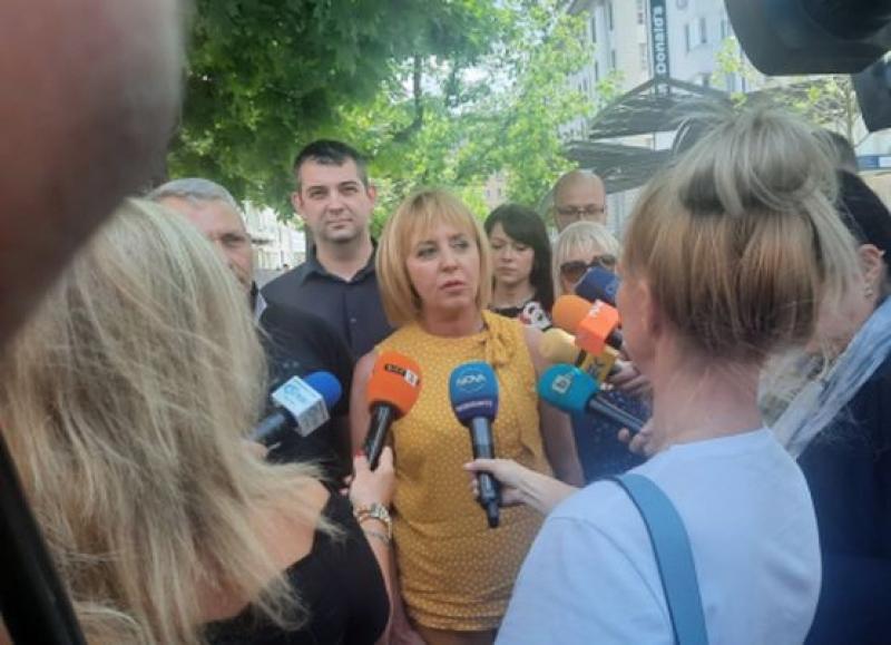 """Мая Манолова: Парламентaрната група вече се казва """"Изправи се БГ! Ние идваме!"""""""